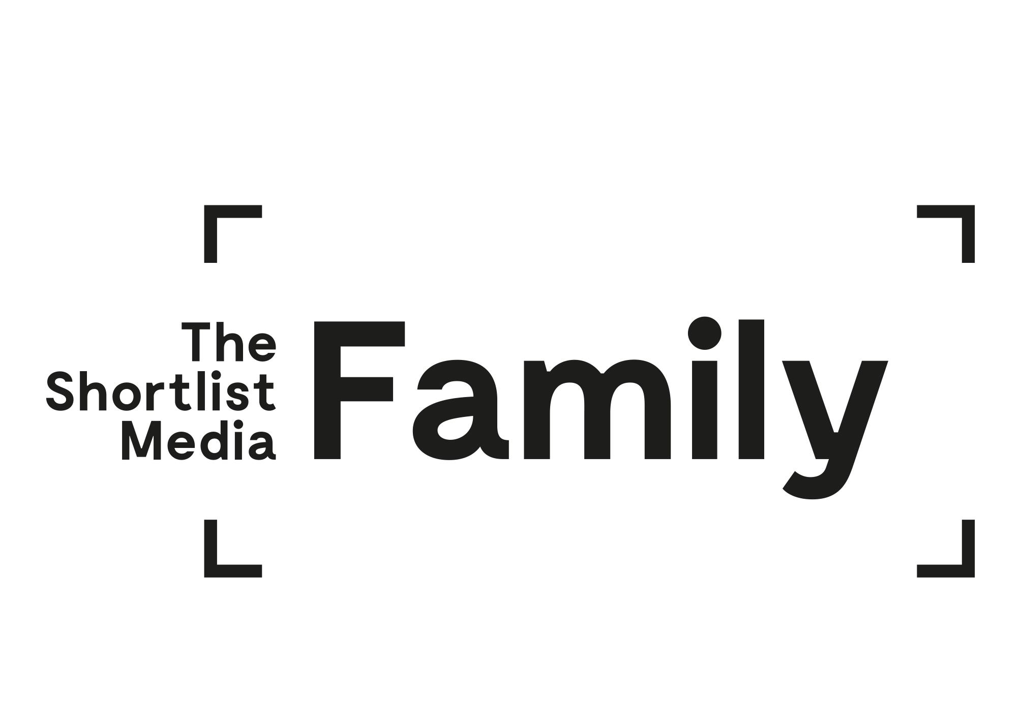 Shortlist Media Family branding | Robin Farley