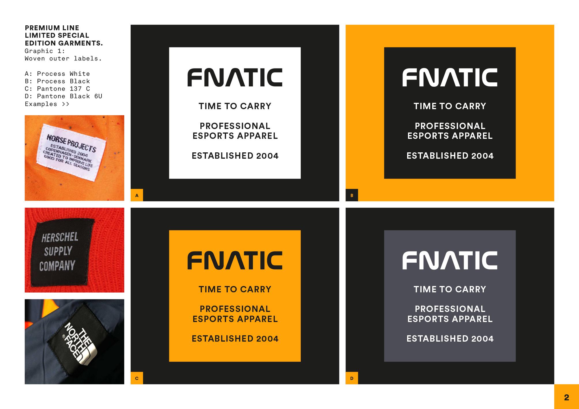Fnatic clothing Robin Farley 2017-2